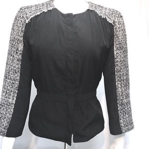 Black and white jacket blazer Kenneth Cole sz M